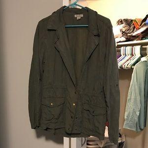 Lucky Brand Women's Army Jacket - Size XL